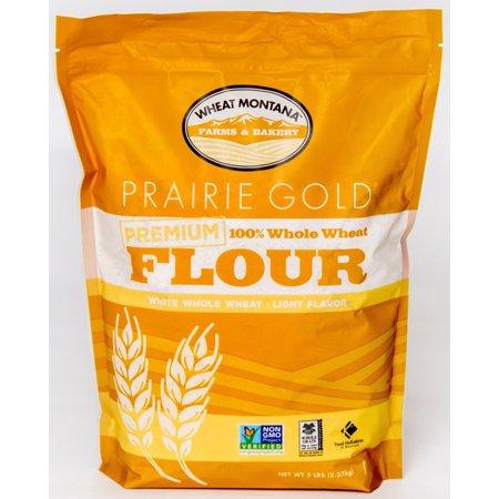 Wheat Montana Prairie Gold Flour, 5 Lbs - Walmart.com