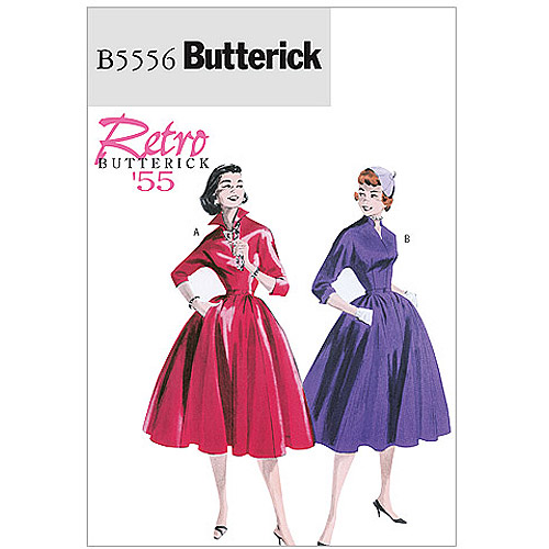 Butterick Pattern Misses' Dress and Belt, BB (8, 10, 12, 14)