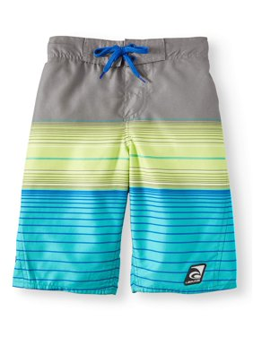20e55f805d Product Image Summer Is Back Stripe Swim Trunks (Big Boys)