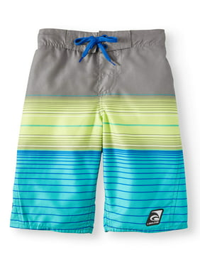 5b10f6eec1 Product Image Summer Is Back Stripe Swim Trunks (Big Boys)