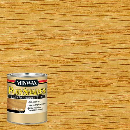 Minwax® PolyShades® Honey Pine, Satin, 1-Qt