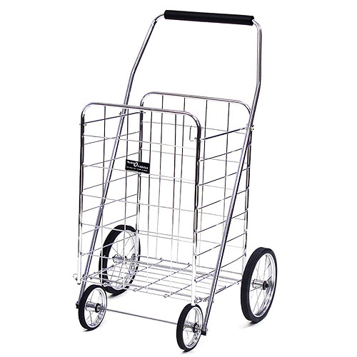 Jumbo Shopping Cart, Chrome