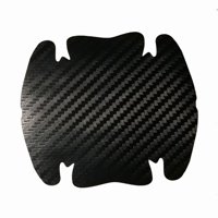 AkoaDa 4Pcs/Set Car Door Carbon Fiber Vinyl Sticker Scratches Resistant Cover Body Decoration Auto Handle Protection Film