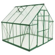 Balance Hobby Greenhouse with Frame in Green