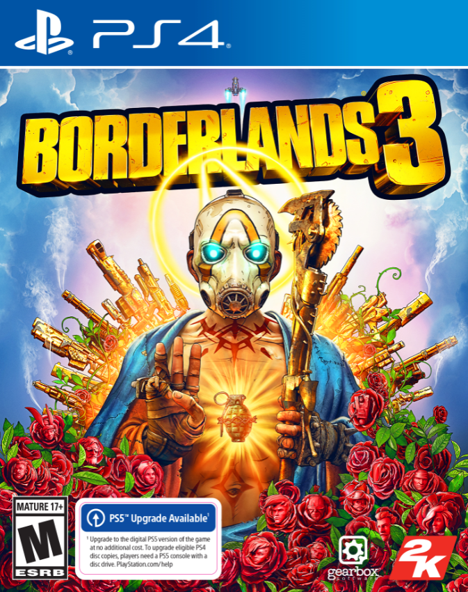 Borderlands 3, 2K, PlayStation 4, 0710425574931