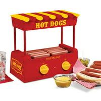 Nostalgia HDR8RY Hot Dog Roller and Bun Warmer