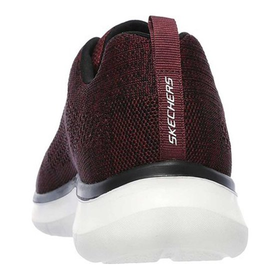 65a39472ecad Skechers - Skechers 52387-BURG   Quantum Flex-Smyzer Relaxed Fit Sneakers  (9 D(M) US) - Walmart.com