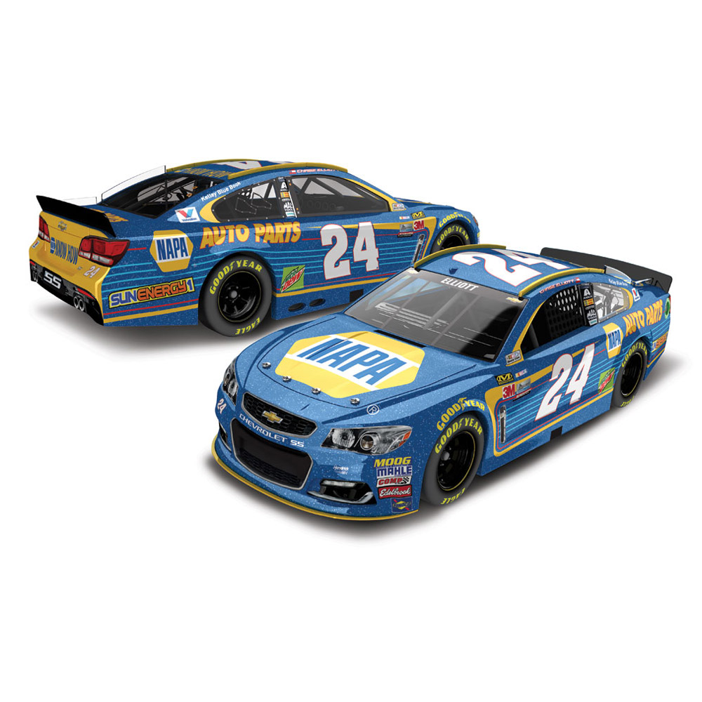 Chase Elliott Action Racing 2017 #24 NAPA 1:24 Nascar Sprint Cup Series Galaxy Die-Cast... by Lionel LLC