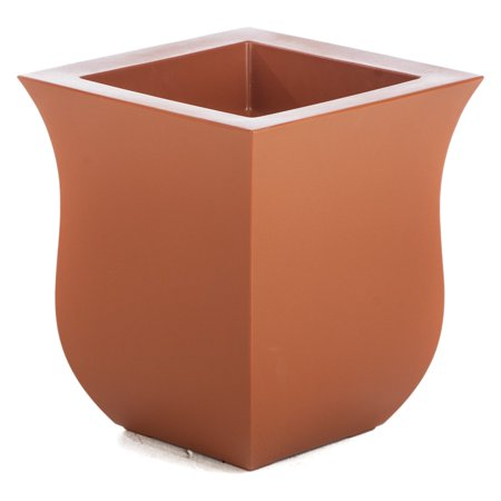 Belham Living Valencia 16 x 16 in. Planter Add some green to your thumb with Hayneedle's exclusive Belham Living Valencia 16 x 16 in. Planter. Durable Polyethylene construction means these planters are lightweight, durable, UV-resistant, and they won't crack, fade, split, or warp. These matte beauties are great for all-season gardening due to their durability. They're designed and crafted for Hayneedle by Mayne, a leader in outdoor accessory manufacturing.