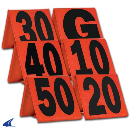 Football Yard (CHAMPRO Weighted Football Yard Markers)