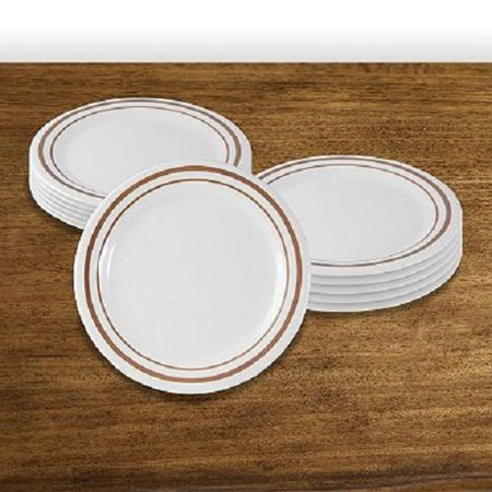 Acadia Collection - Arcadia melamine dinnerware collection 9 Inch Round Dinner Plate
