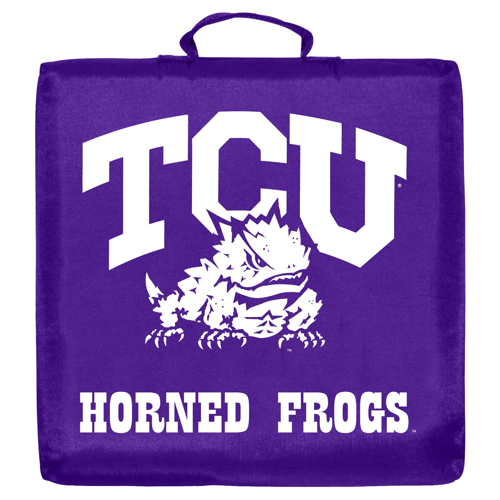 TCU HORNED FROGS OFFICIAL LOGO STADIUM SEAT CUSHION