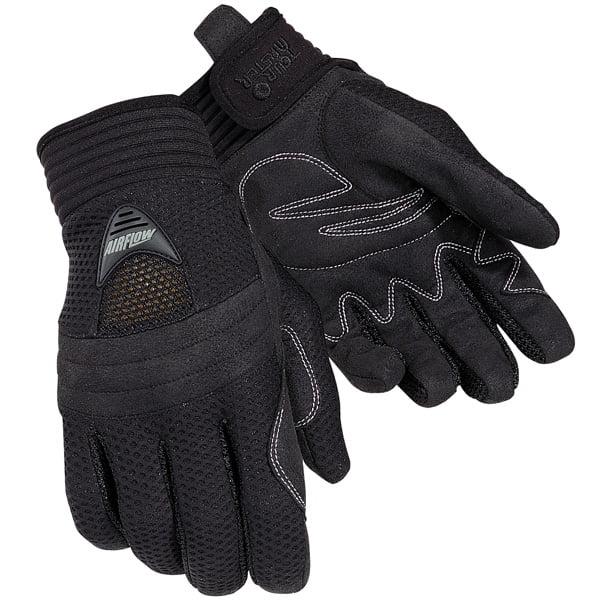 Tourmaster Airflow Textile Gloves Black
