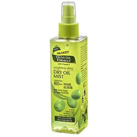 Palmer's Olive Oil Formula Weightless Shine Dry Oil Mist, 6 oz (Pack of 3)