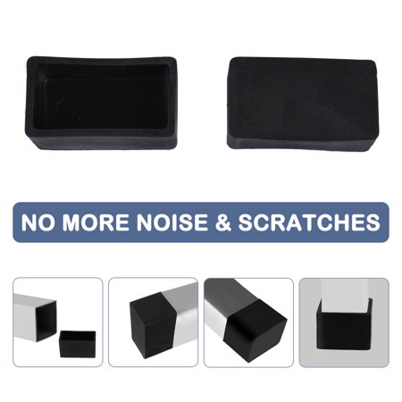 """Desk Table Leg Caps End Tip Home Furniture Protector 32pcs 0.79""""x1.57"""" (20x40mm) - image 5 of 7"""