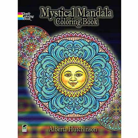 Dover Publications, Mystical Mandala Coloring Book - Walmart.com