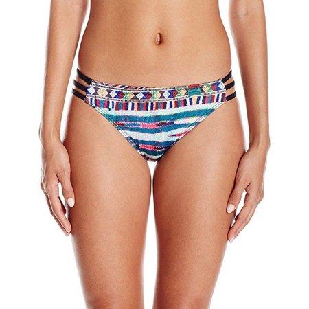 Roxy Women's Cuba Base Girl Bikini Bottom, Salsa Super Duper Legit, Sz: M