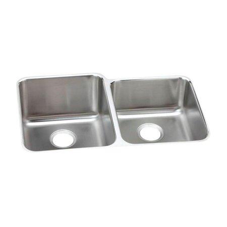 elkay gourmet perfect drain eluh3120rpd double basin