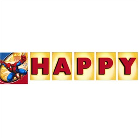 Spider-Man Spider Sense Happy Birthday Banner (1ct)