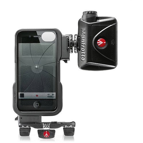 Manfrotto KLYP Case for iPhone 4/4S + ML240 LED Light