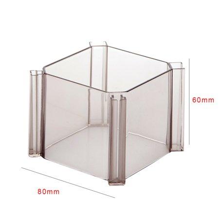 6pcs DIY Combination Honeycomb Drawer Divider Underwear Socks Storage Organizer Plastic Cabinet Partition - image 3 de 8