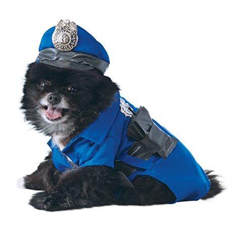 Rubie's Police Dog Pet Costume, Medium - Police Dog Costume