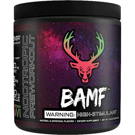 Bucked Up BAMF (Formerly LIT AF Pre-Workout) (Strawberry Kiwi - 30