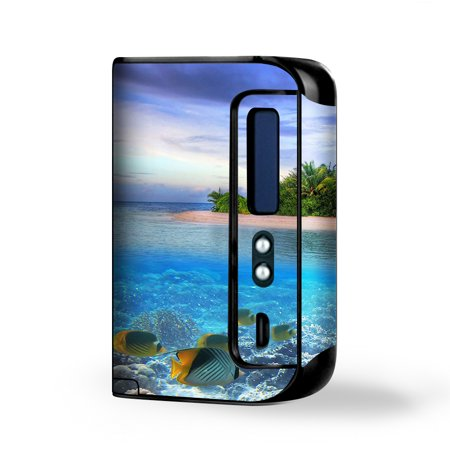 Skin Decal Vinyl Wrap for Smok Osub King 220W Vape Kit skins stickers cover / Underwater Snorkel Tropical Fish (Tropical Fish Island)