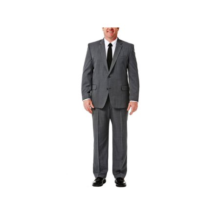Big & Tall Travel Performance Suit Separate Jacket Classic Fit HZ90267 Big And Tall Suit