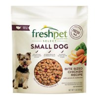 Freshpet Healthy & Natural Food for Small Dogs/Breeds, Grain Free Chicken Recipe, 1lb
