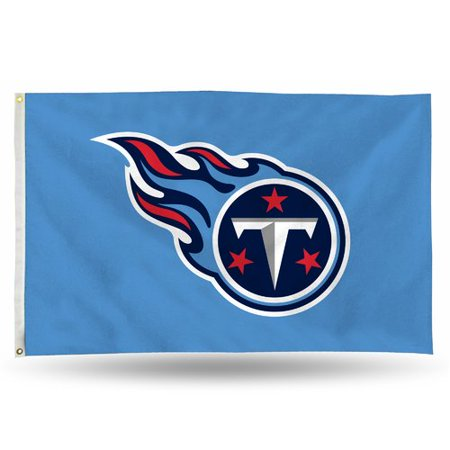 Rico Industries NFL 3' x 5' Banner Flag, Tennessee Titans (Tennessee State Flag History)