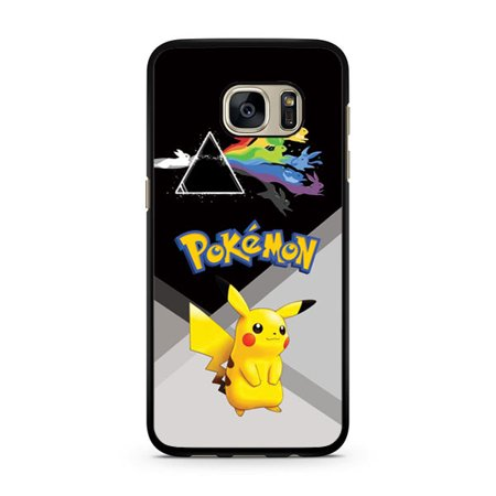 Pokemon Pikachu With Rabbits Galaxy S7 Edge Case - Pikachu With Glasses