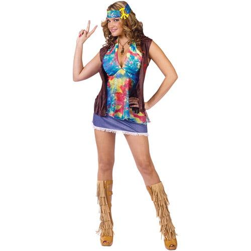 Hippie Summer of Love Adult Halloween Costume