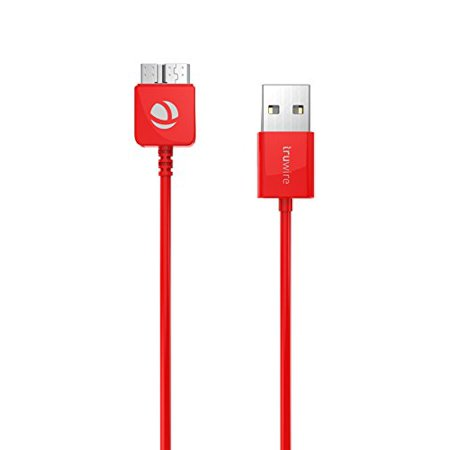 Ixir Truwire {Galaxy S5 and Galaxy Note 3}USB 3.0 Data Sync And Charging 3 Feet Cable for Samsung Galaxy Note 3 And S5 [N9000 N9002 N9005 SM-G900F SM-G900H SM-G900R4 SM-G900V] Best type (5)