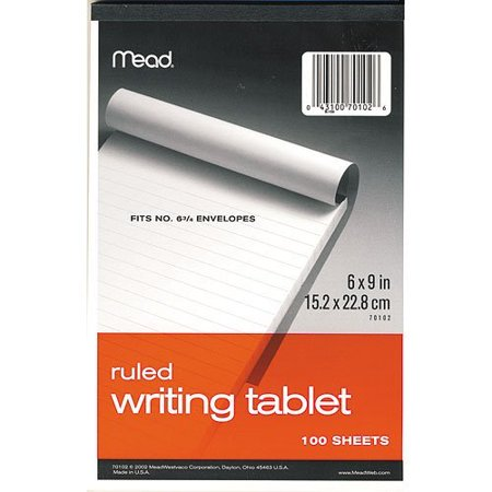 Mead Notepad - 12 PACK: 70102 6