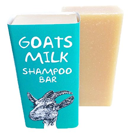 Goats Milk Shampoo - Professor Fuzzworthy Fresh Goats Milk Shampoo Bar 100% Natural Only 5 Ingredients – 4oz