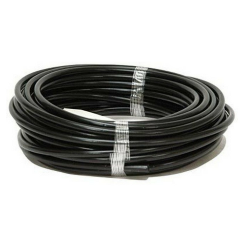 ELECTRIC FENCE INSULATOR TUBING BLACK 50 FOOT