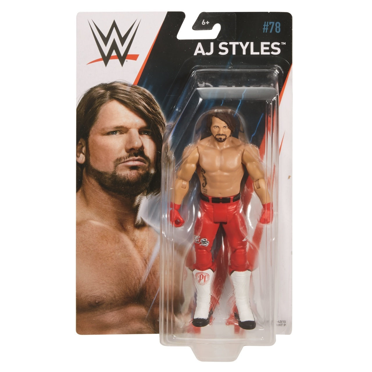 Aj Styles WWE Mattel Basic Series 78 Action Figure by MATTEL INC.