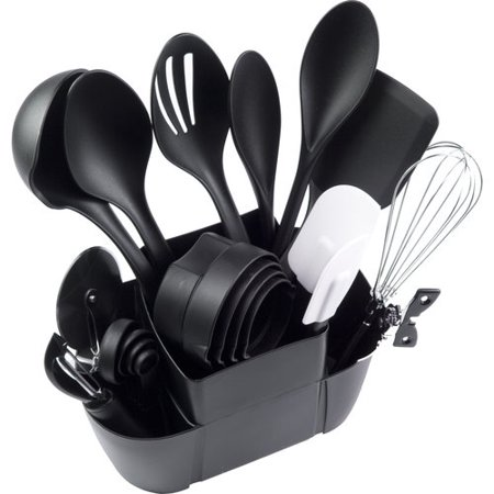 Mainstays 21-Piece Kitchen Utensils Set ()