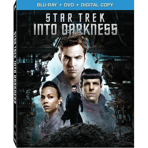 Star Trek: Into Darkness (Blu-ray   DVD   VUDU Digital Copy) (Walmart Exclusive) (With INSTAWATCH) (Widescreen)