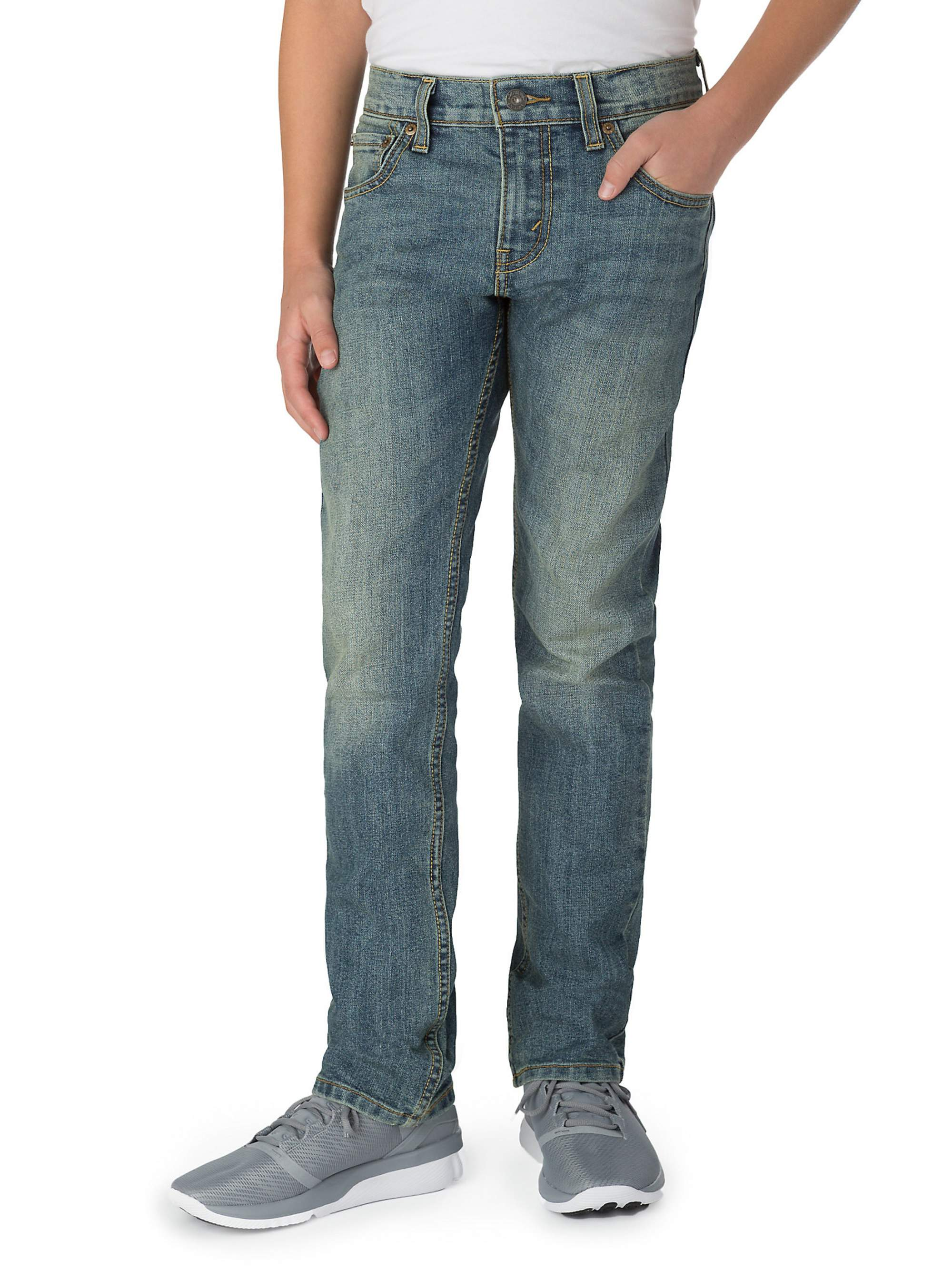 9d8a530cc4c Signature by Levi Strauss & Co. - Skinny Fit Jeans (Little Boys & Big Boys)  - Walmart.com