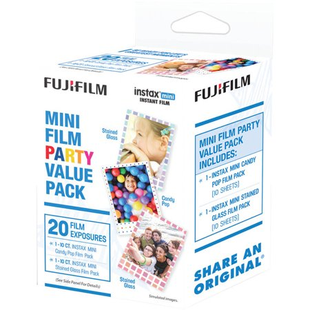 Fujifilm Instax Mini Film Pack (party Value Pack) - Le Masque D Halloween Film