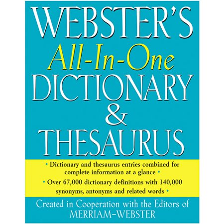 Merriam webster all in one dictionary thesaurus hardcover for Cuisine thesaurus