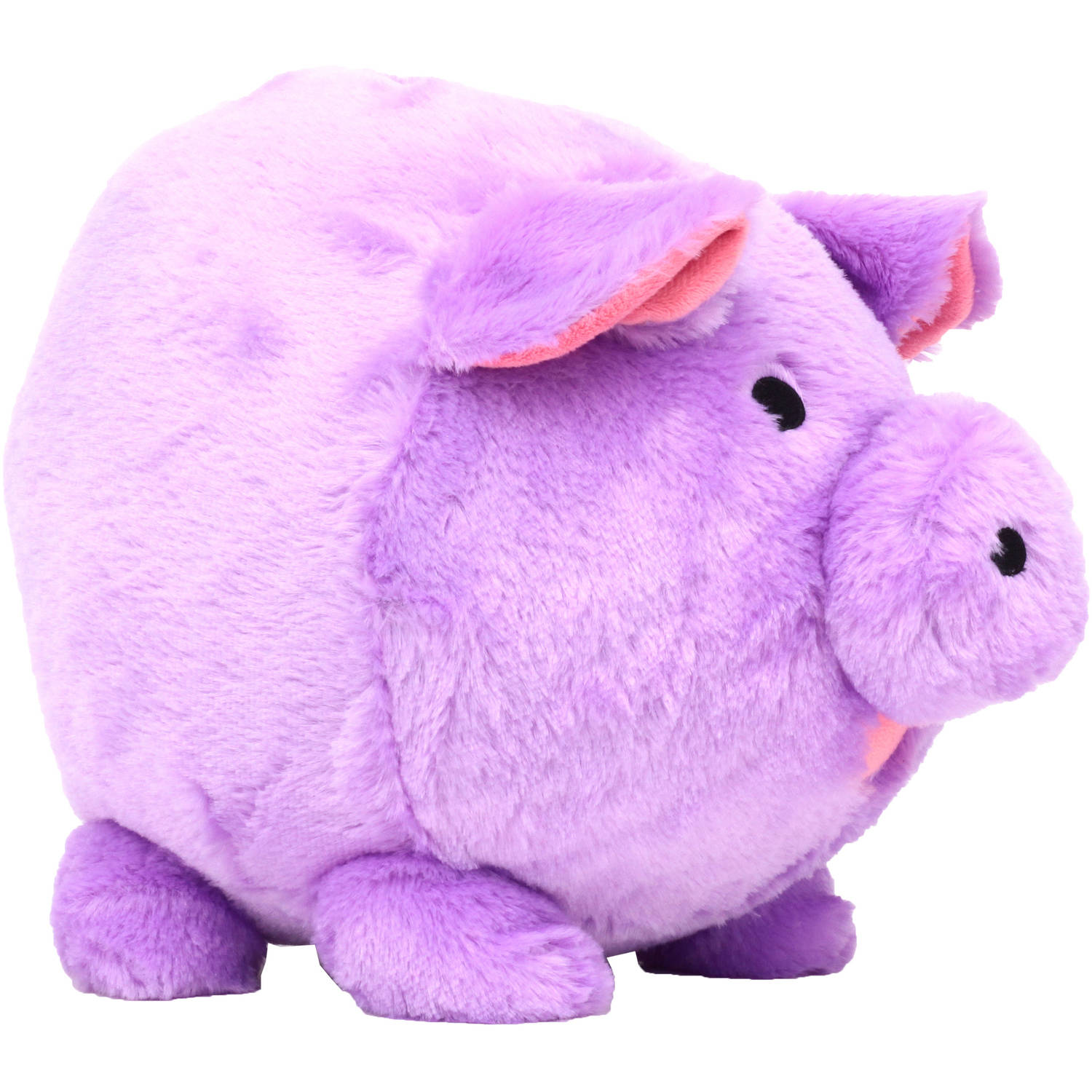 Purple Plush Piggy  Bank