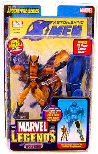 Marvel Series 12 Apocalypse Astonishing X-Men Wolverine Action Figure by