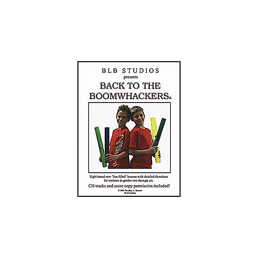 Rhythm Band Back To The Boomwhackers Book by Rhythm Band