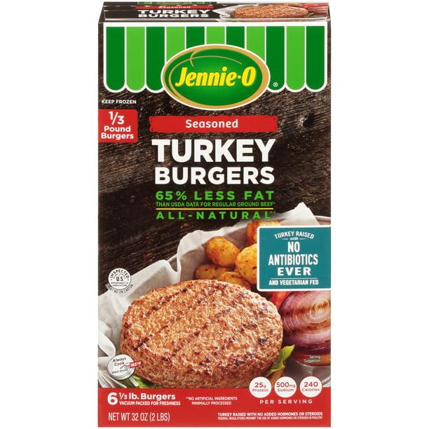Jennie O Turkey Burgers Seasoned Nae Walmart Com Walmart Com