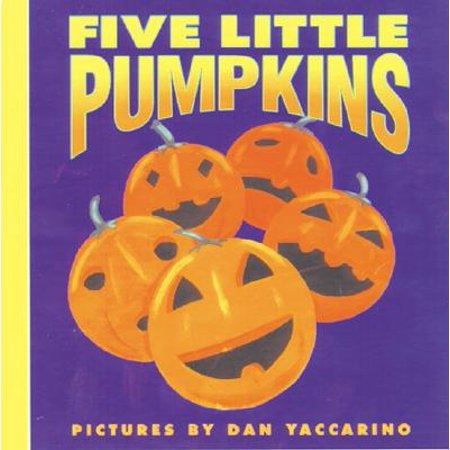 Five Little Pumpkins (Board Book) - Halloween Poem Five Little Pumpkins