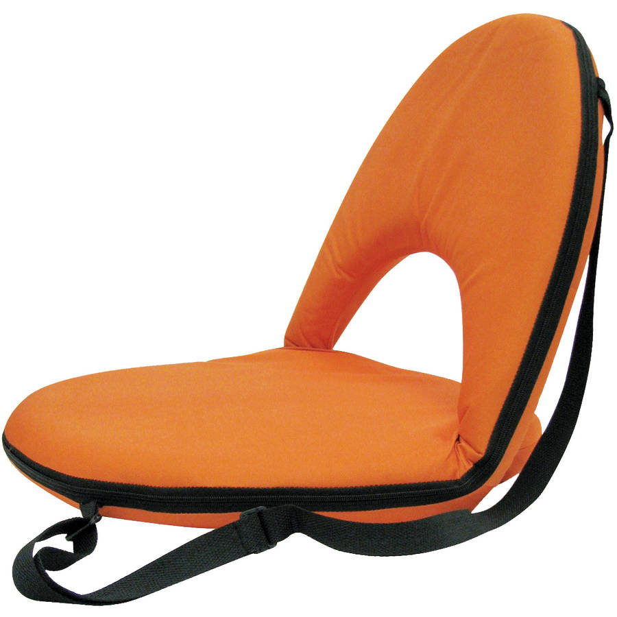 Stansport Portable and Adjustable Chair, Orange