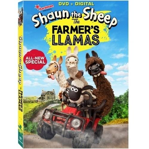Shaun The Sheep: The Farmer's Llamas (DVD + Digital Copy) (With INSTAWATCH)